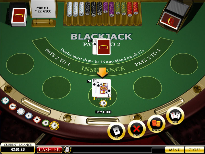 blackjack free play